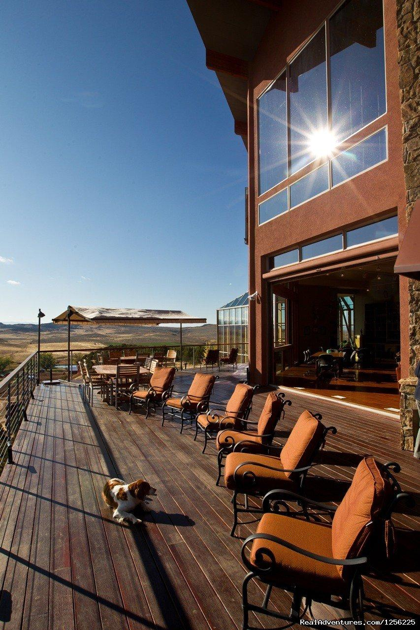 Deck at the Lodge | Image #17/24 | Incredible experience at Red Reflet Guest Ranch