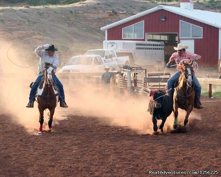 Roping | Image #11/24 | Incredible experience at Red Reflet Guest Ranch