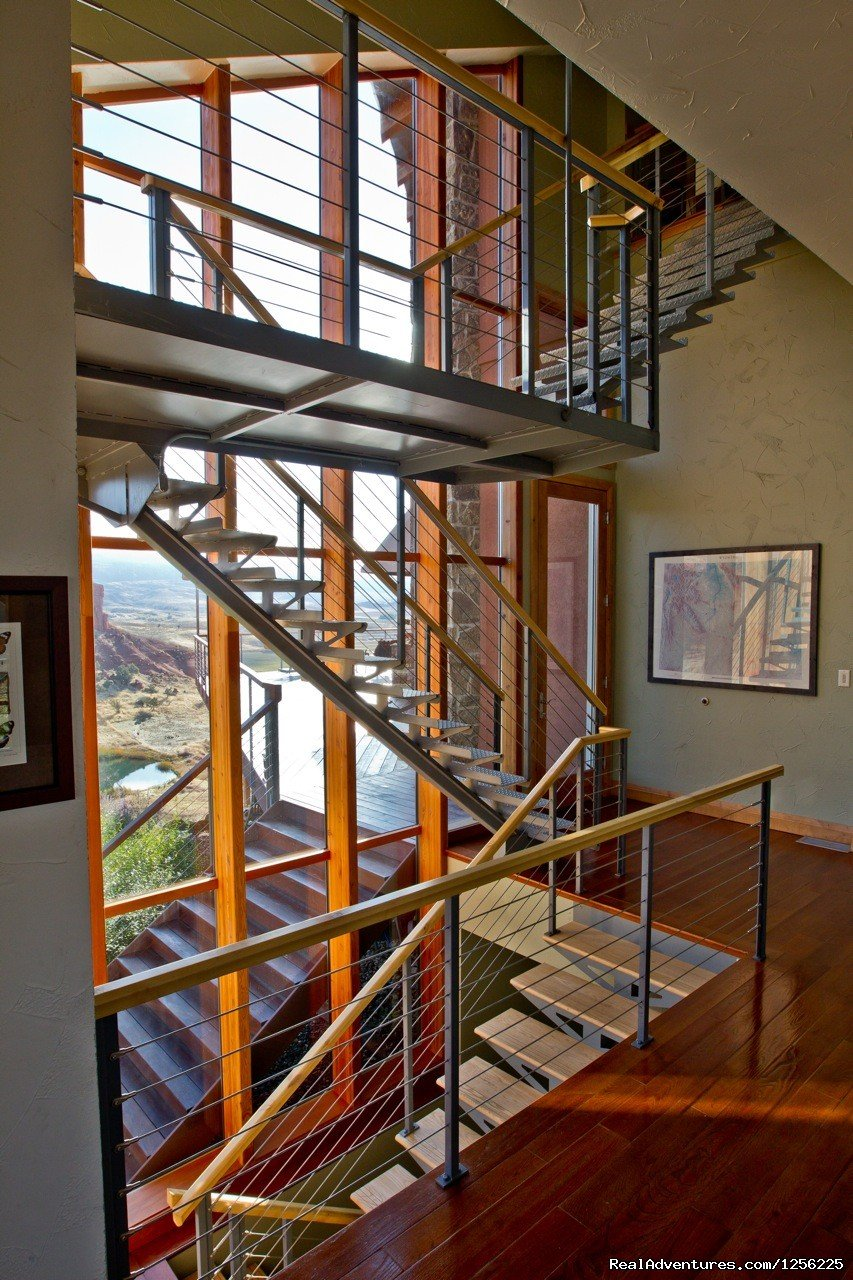Suspended Stairs | Image #14/24 | Incredible experience at Red Reflet Guest Ranch