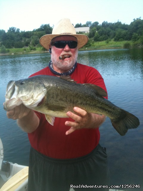 Fabulous Fishing - Meadowlake Ranch B&B, Dude Ranch, Weddings, Events