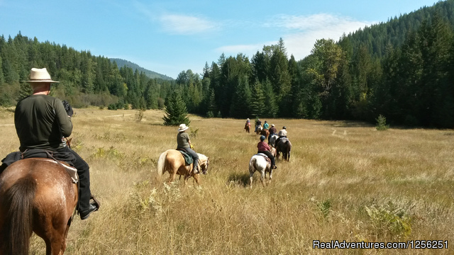 Western Pleasure Guest Ranch Sandpoint, Idaho Dude Ranch