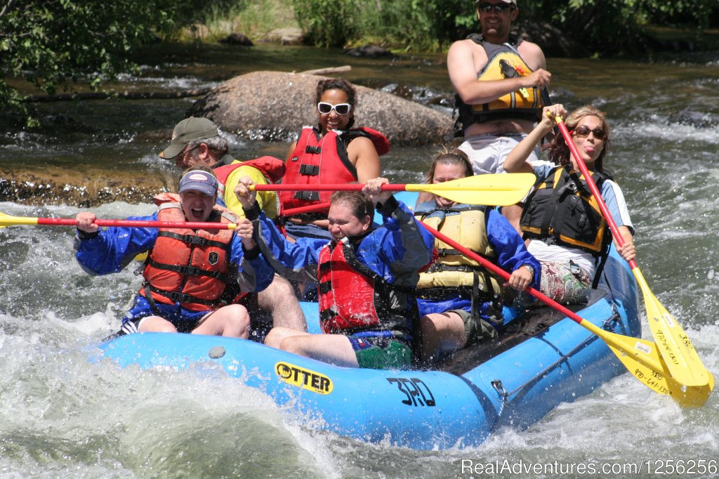 Whitewater rafting on the Taylor River | Image #3/3 | Harmel's Ranch Resort