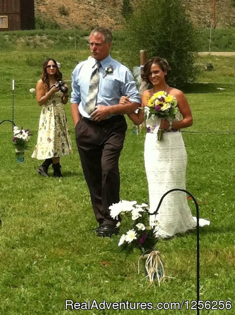 Have your Rocky Mountain Dream Wedding Here - Harmel's Ranch Resort
