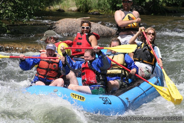Whitewater rafting on the Taylor River - Harmel's Ranch Resort