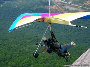 Mountain Launch Hang GlidingThrill-A-Minute Sports East, Tennessee Hang Gliding