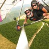 tandem flight: Nelson Hang Gliding Adventures, Nelson, New Zealand