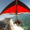 Hang Gliding over S?o Conrado Beach Rio de Janeiro, Brazil