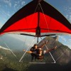 Hang Gliding next to Gavea peak in Rio de Janeiro, Brazil