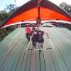 Hang Glider take off, Pedra Bonita, Rio de Janeiro