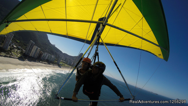 Hilton Fly Rio Hang Gliding Center No experience is required