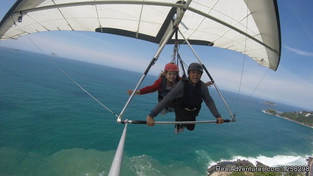 A dream is coming true (#2 of 3) - Hilton Fly Rio Hang Gliding Center