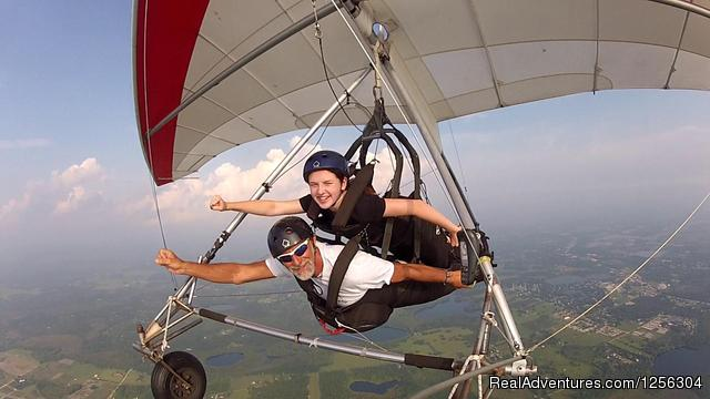 Nothing but air - Quest Air Hang Gliding