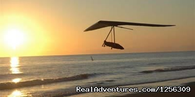 Beach gliding (#4 of 8) - Sonora Wings Arizona Tandem Hang Gliding Flights