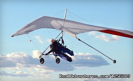 We are flying - Sonora Wings Arizona Tandem Hang Gliding Flights