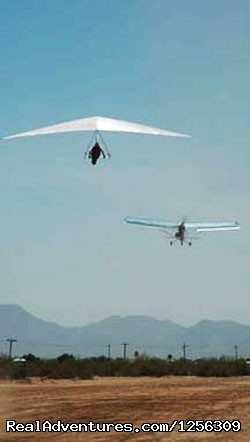 Solo Tow (#8 of 8) - Sonora Wings Arizona Tandem Hang Gliding Flights