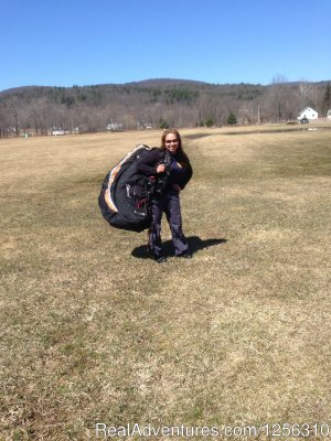 Adventure Sports Ellenville, New York Paragliding