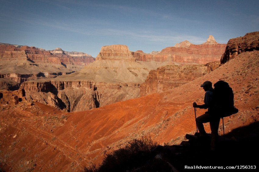 Backpacker in Grand Canyon | Image #3/12 | Four Season Guides