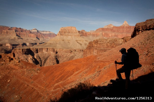 Backpacker in Grand Canyon - Four Season Guides
