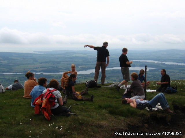 Guided Tour on the Wicklow Mountains - Tailor-Made Hiking Tours of Ireland