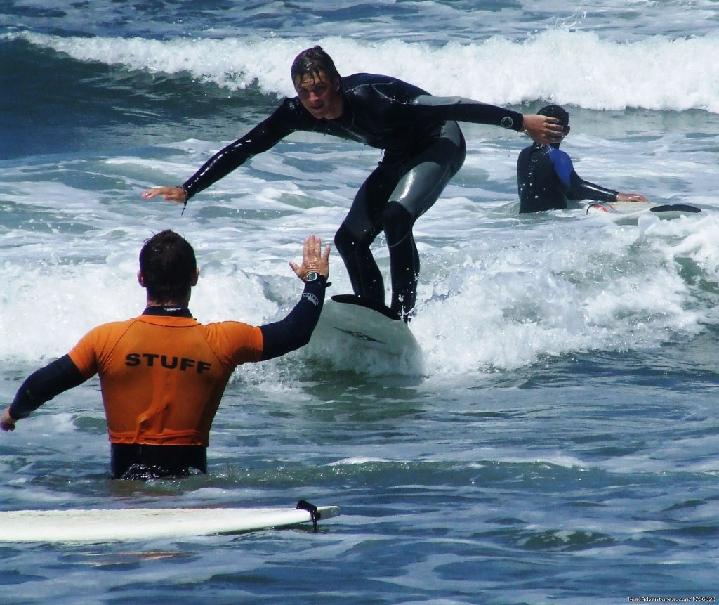 Surf Lessons | Image #1/8 | Esmoriz, Portugal | Surfing | Surf camp in the north of Portugal.