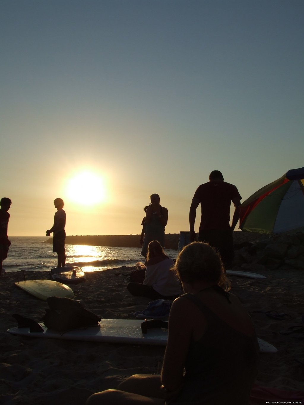 sunset surf | Image #8/8 | Surf camp in the north of Portugal.