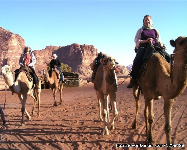 Wadi Rum - Camel ride (#6 of 25) - Jordan Memory Tours