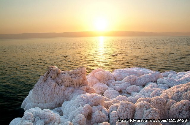 Jordan Memory Tours Sun set at Dead sea