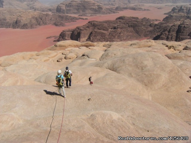Climbing in Wadi Rum (#22 of 25) - Jordan Memory Tours