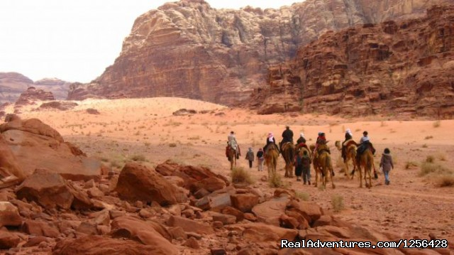 Camel ride in Wadi Rum - Jordan Memory Tours