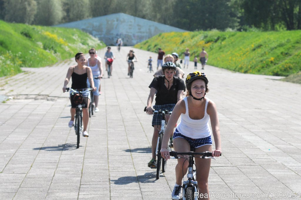 Easy going bicycle tour, where you can cycle and admire the surroundings, meet other tourists, ask questions and find out other things to do in Tallinn and Estonia. Tours take place all year round, register in advance. Duration 2 hours, 14 miles path