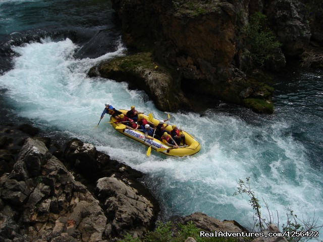 Rafting on River Zrmanja - Croatia's best activity and adventure zone