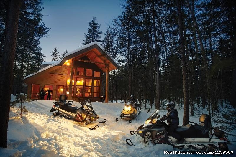 Lakeside Cabins overlooking Millinocket Lake and Katahdin. Full-service cabins open year round, on-site River Drivers Restaurant open seven days a week. On ITS 86, snowmobile, whitewater rafting, fishing, canoe, hike, swim, play and have fun with us.