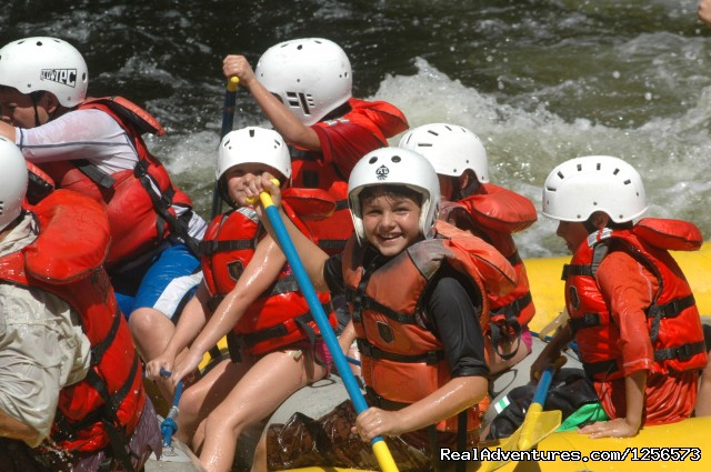 Family Fun Rafting on the Kennebec River - North Country Rivers - Maine Outdoor Adventures