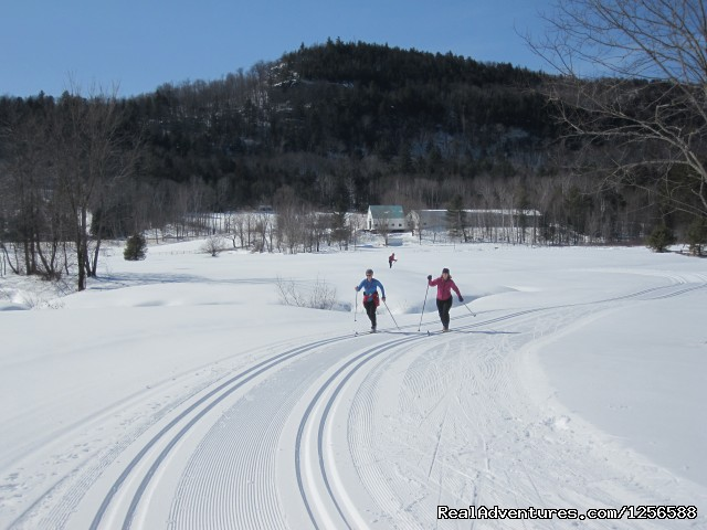 Easy trails welcome first time skiers - Jackson Ski Touring Foundation