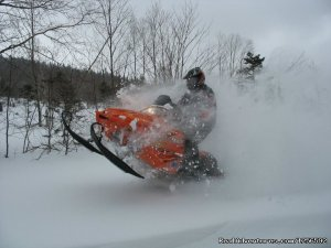 Northeast Snowmobile Rentals Snowmobiling Fryeburg, New Hampshire