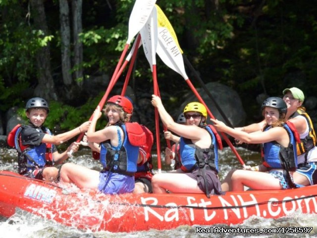 Raft NH Offers Family - Friendly White Water Rafting Trips - Muddy Paw Sled Dog Kennel & Raft NH