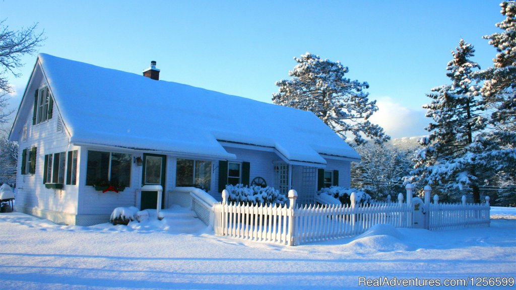 Alpine Moose Cottage at Farm by the River | Image #2/7 | Carriage/Sleigh Ride w/ Vacation Rental Home