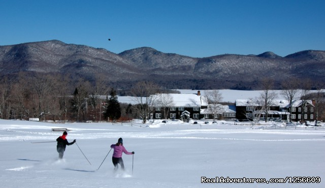 Nordic Skiing - The Mountain Top Inn & Resort