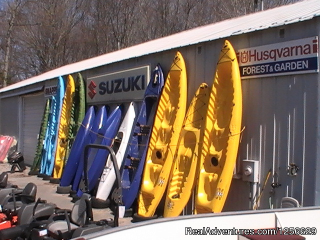 Fish hunt shop boat atv snowmobile rentals curtis for Fish and hunt shop curtis michigan
