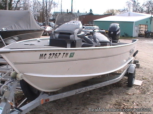 - Fish & Hunt Shop Boat, ATV, Snowmobile Rentals