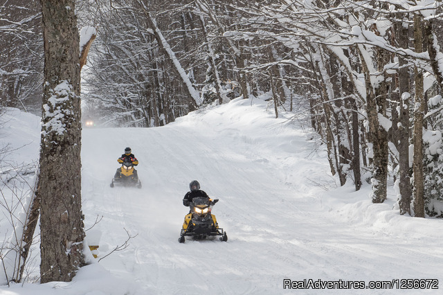 Old Forge Trails II - White Lake Snow Tours and Rentals LLC