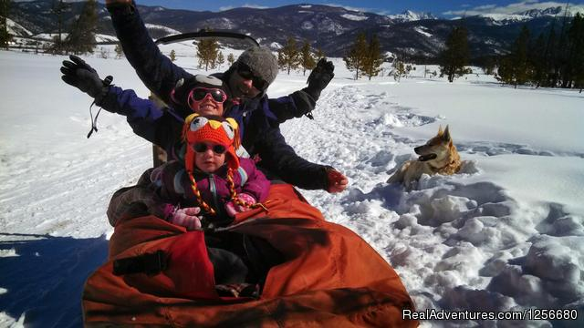 Dog Sled Rides of Winter Park Dog Sledding Colorado