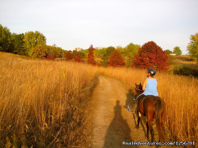 Image #2 of 25 - Afternoon of riding trail on horseback
