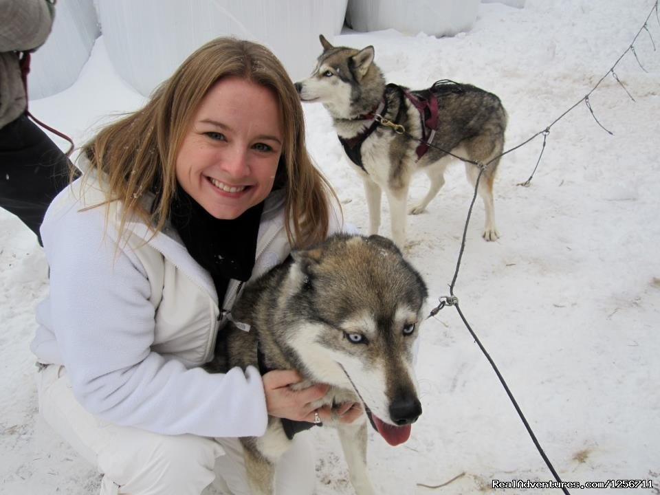Shawn and Smudgie | Image #3/11 | Barking Brook Sled Dog Adventures llc