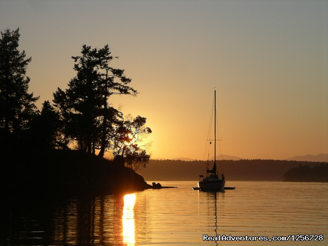 Sunset in Princess Cove, BC (#2 of 6) - Sailing Classes in Vancouver
