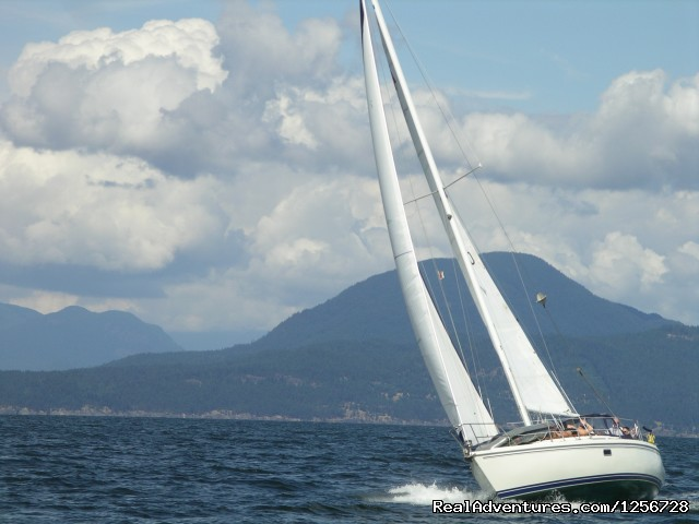 Day Sailing (#4 of 6) - Sailing Classes in Vancouver