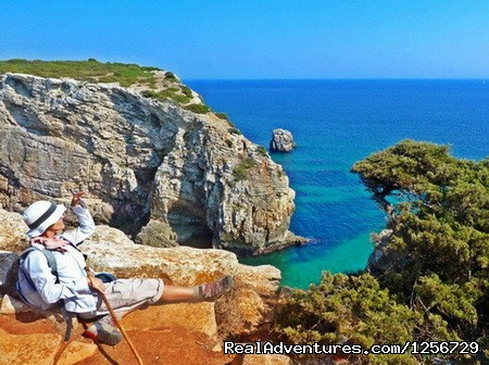 Portugal Hike: The Algarve Limestone Cliffs
