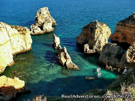 Image #5 of 26 - Portugal Hike: The Algarve Limestone Cliffs