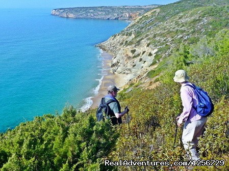 Image #8 of 26 - Portugal Hike: The Algarve Limestone Cliffs