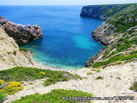 Image #10 of 26 - Portugal Hike: The Algarve Limestone Cliffs